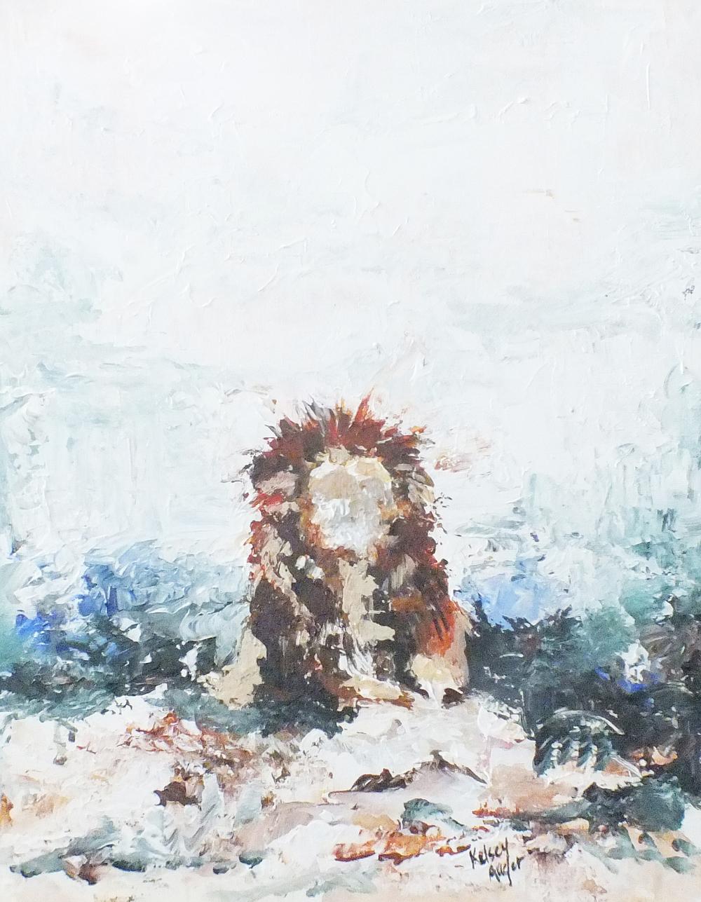 Breath of Air, Acrylic on Canvas