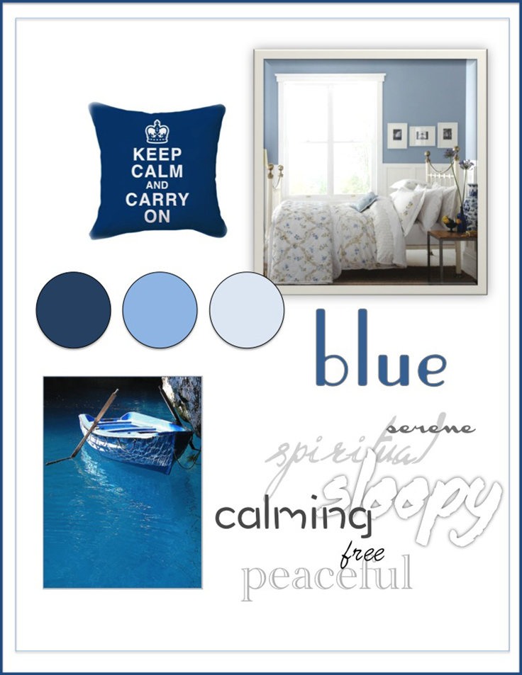 Colour Psychology: Blue - Kelsey Auger Art and Decor