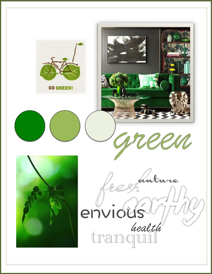 Colour Psychology: Green - Kelsey Auger Art and Decor