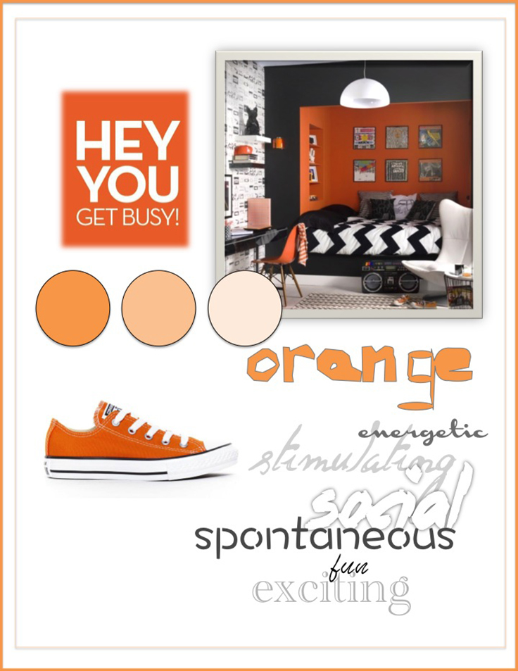 Colour Psychology: Orange - Kelsey Auger Art and Decor