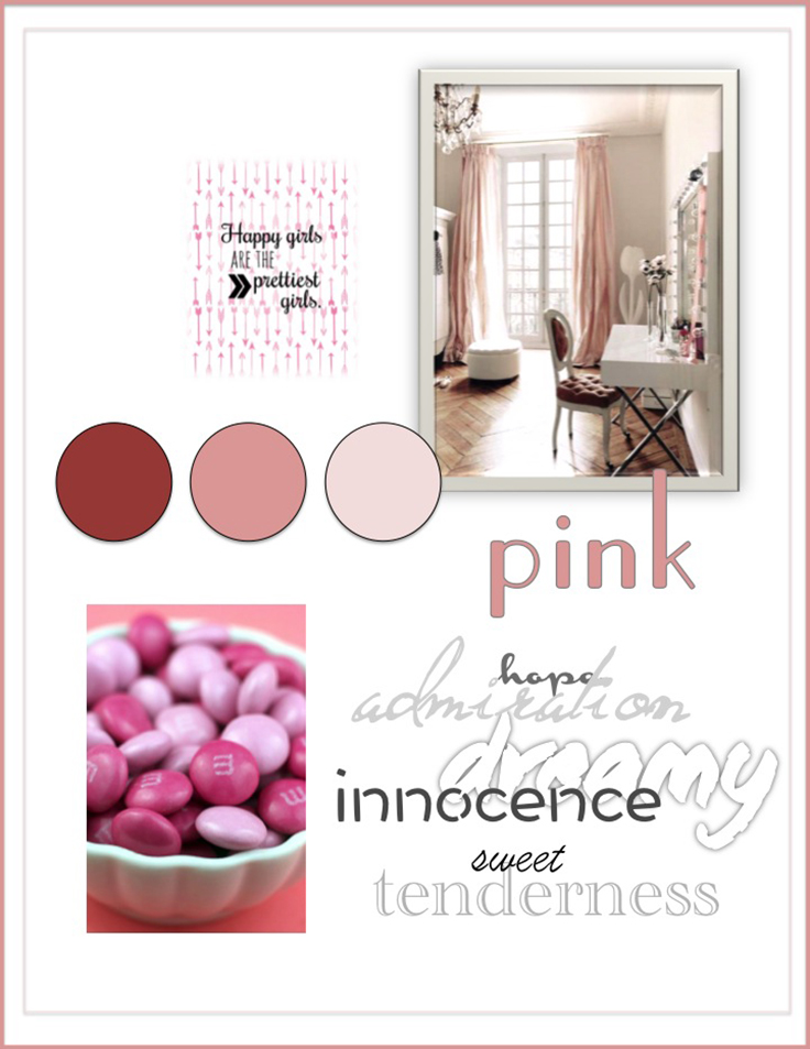 Colour Psychology: Pink - Kelsey Auger Art and Decor
