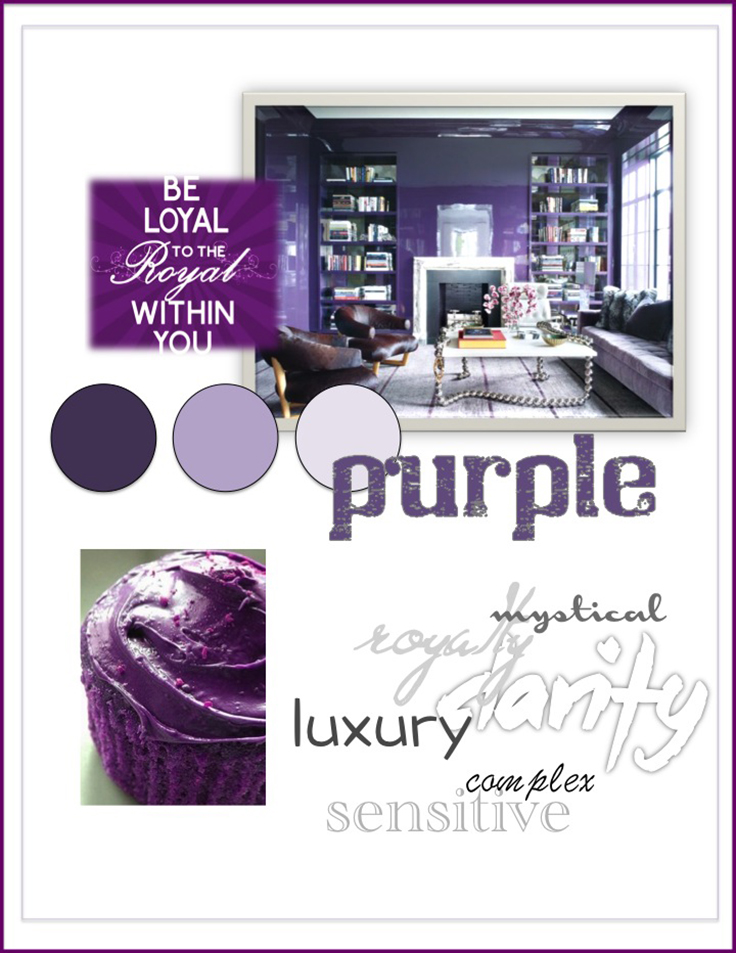Colour Psychology: Purple - Kelsey Auger Art and Decor