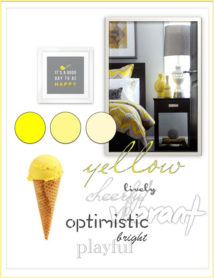 Colour Psychology: Yellow - Kelsey Auger Art and Decor