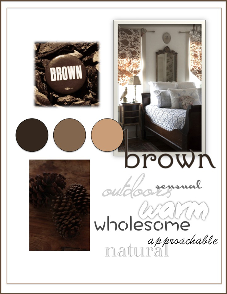 Colour Psychology: Brown - Kelsey Auger Art and Decor