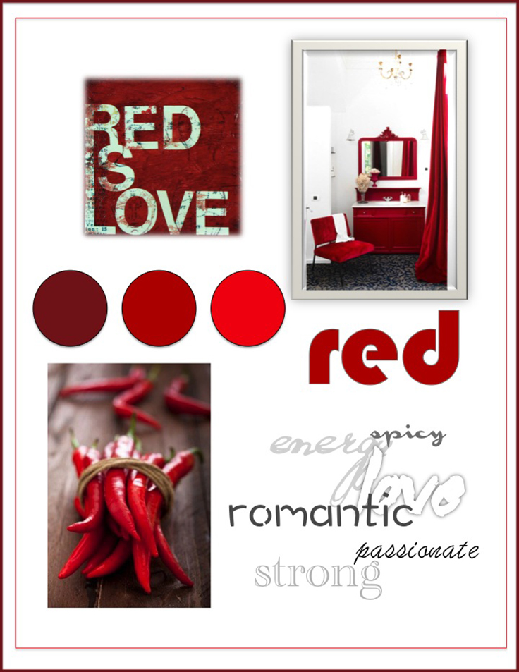 Colour Psychology: Red - Kelsey Auger Art and Decor