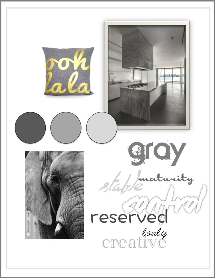 Colour Psychology: Grey - Kelsey Auger Art and Decor