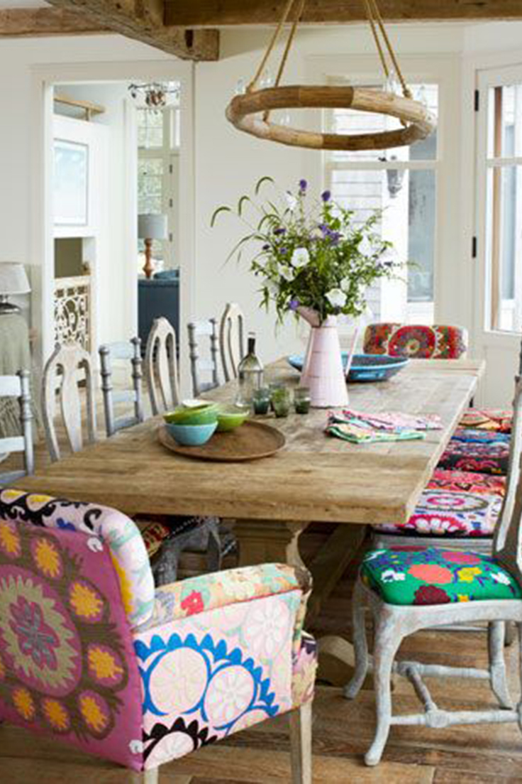 Creating an Eclectic Style: Mixing Dining Chairs