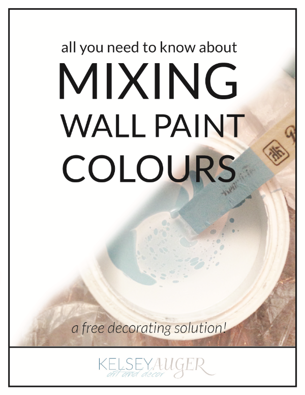 All You Need to Know About: Mixing Wall Paint Colours; an inexpensive decorating solution