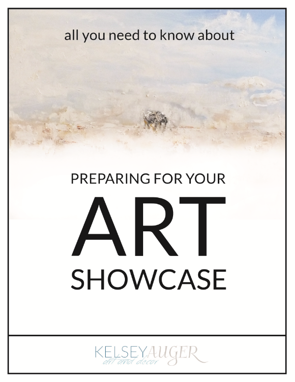 How To Prepare For Your Art Showcase; Kelsey Auger; Blog Post