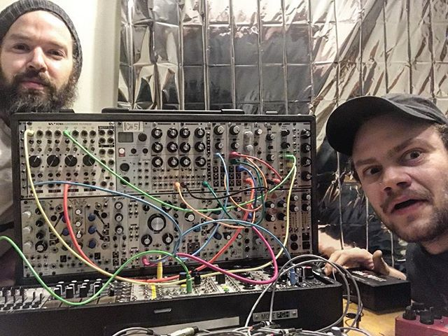 @ddon.life just interviewed me for his podcast about this goofy synth. Find him and listen to me mumble through a very general talk on modular synthesis