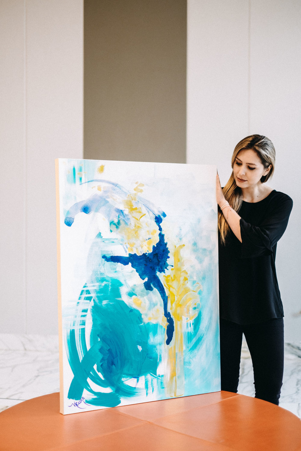 #1 - The Eighth Month. Miami Artist Nicolle Cure