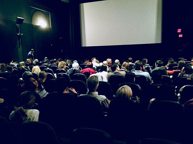 Three years ago today, The crowd waits for GRAFTERS to premiere in NYC.