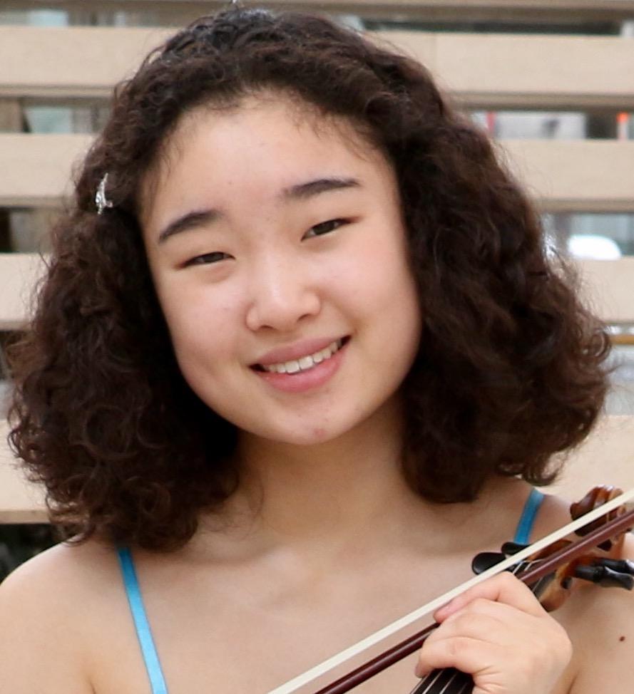 Tabby Rhee, YAC Winner, viola