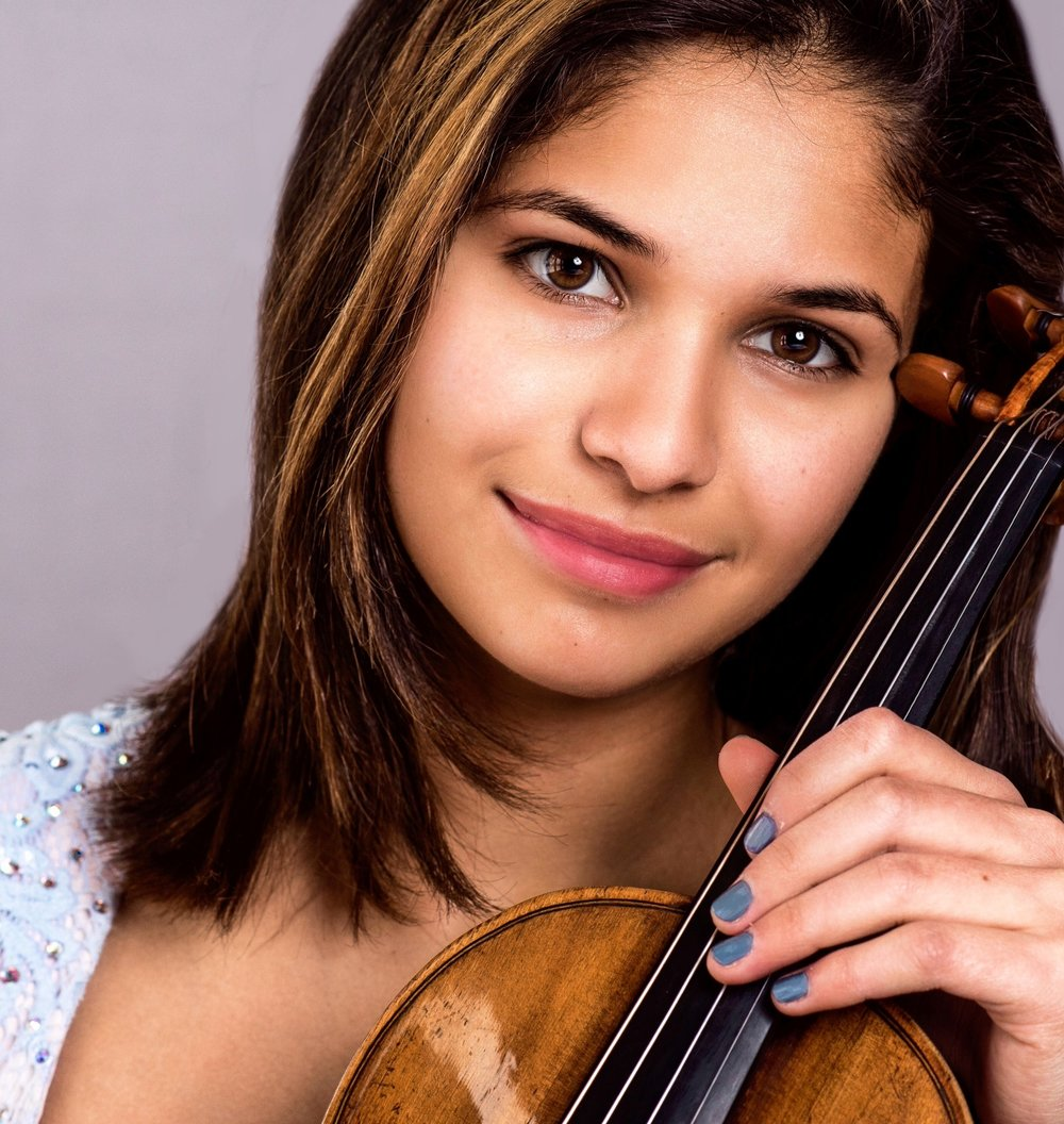 Maya Anjali Buchanan, YAC Winner, violin