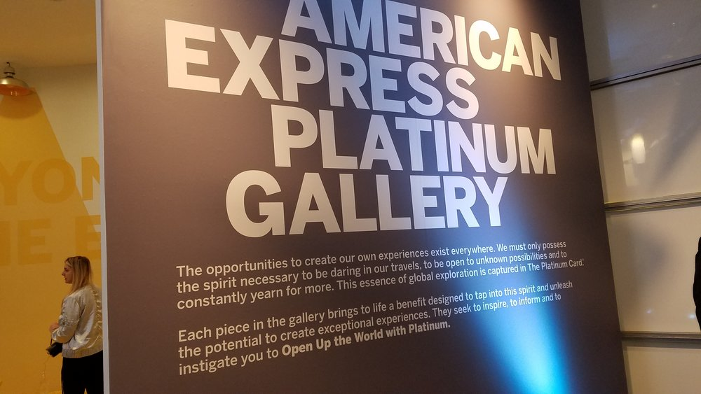 The opportunities to create our own experiences exist everywhere. We must only possess the spirit necessary to be daring in our travels, to be open to unknown possibilities and to constantly yearn for more. This essence of global exploration is captured in The Platinum Card®.  Each piece in the gallery brings to life a benefit designed to tap into this spirit and unleash the potential to create exceptional experiences. They seek to inspire, to inform and to instigate you to  Open Up the World with Platinum.