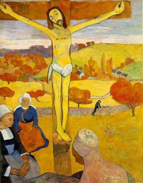 Cristo Amarillo, de Gauguin
