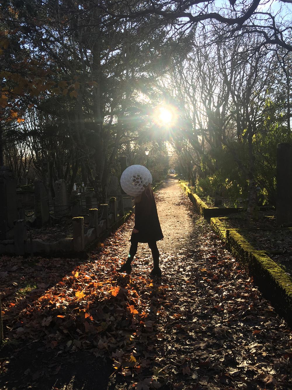 Halloween in Reykjavik's Cemetery