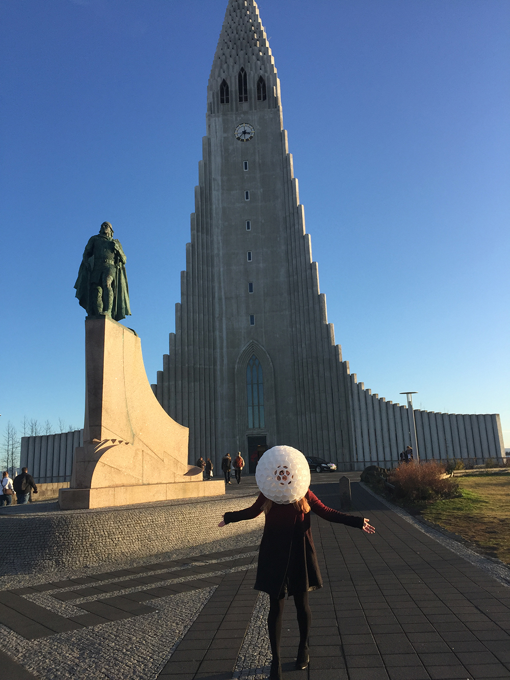 Golf Ball Head Reykjavik