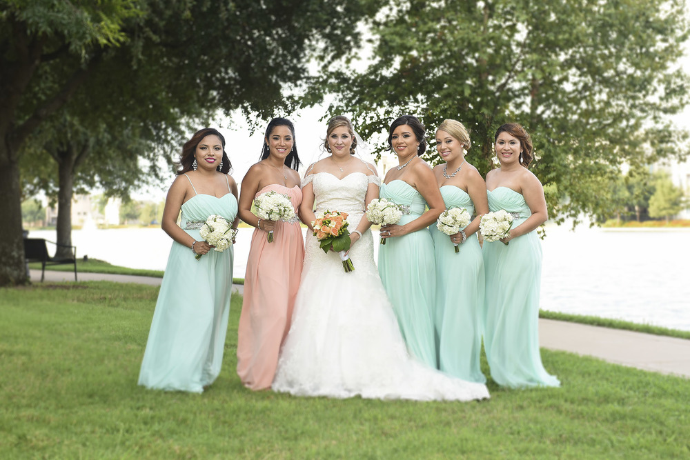 Sugar Land Wedding Bridesmaids 1
