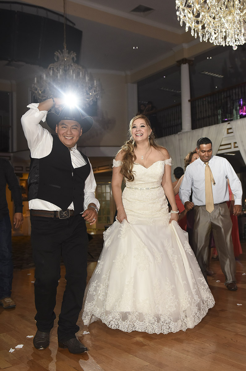 Sugar Land Wedding dancing candid 1