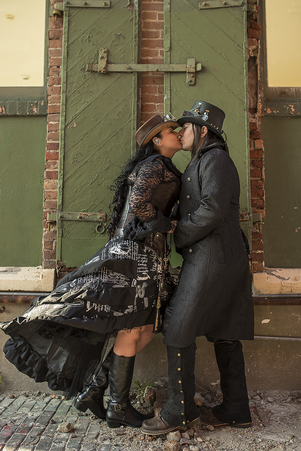 Galveston Steampunk engagement