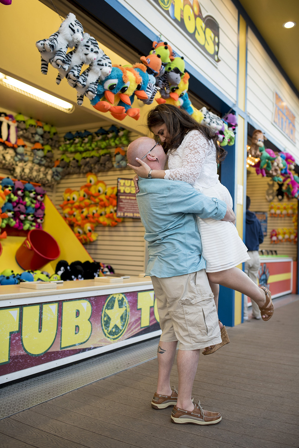 Galveston Pleasure Pier Engagement KJ_010.jpg