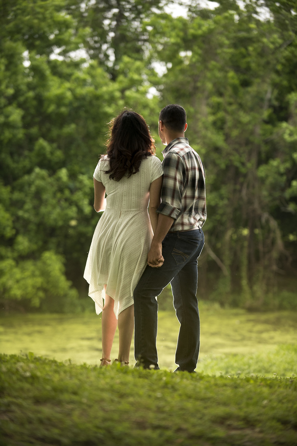 Sugar Land TX romantic Engagement photography