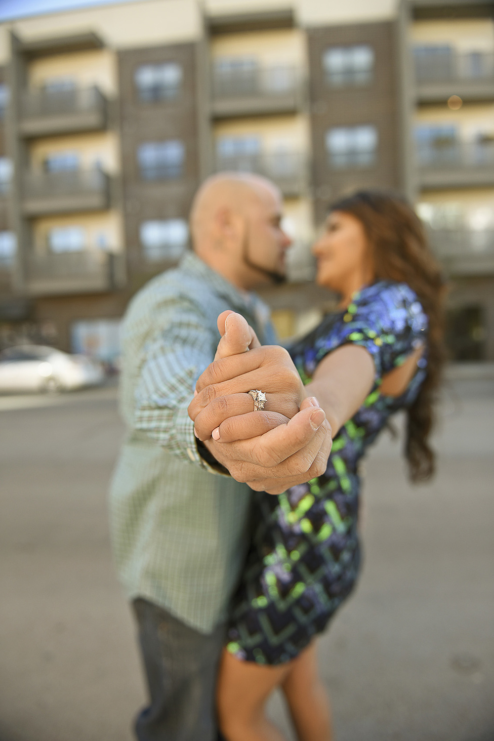 Houston Urban Creative Engagement photography