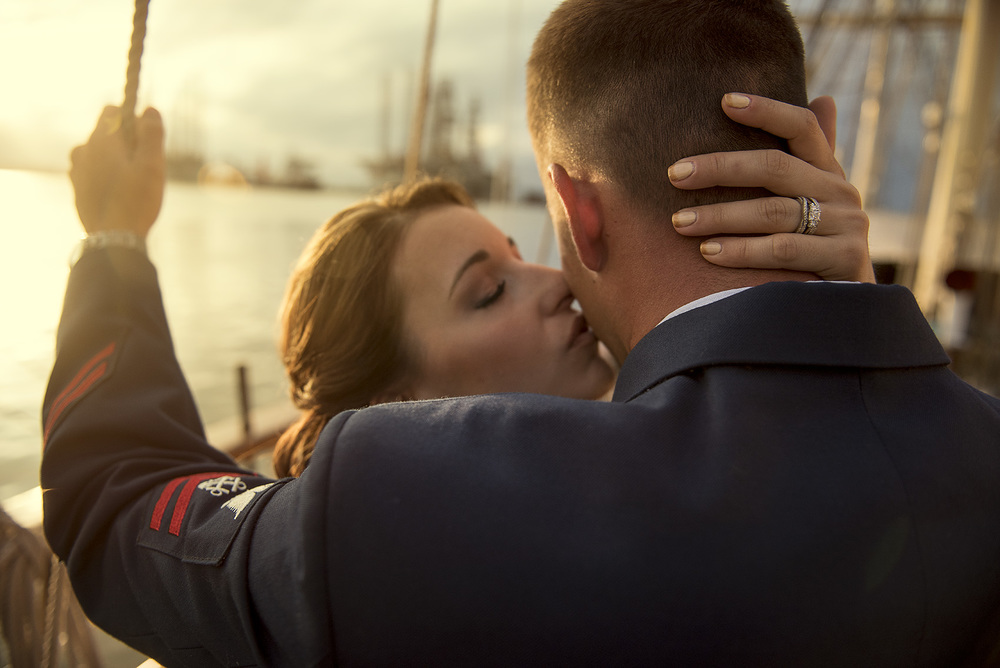 Houston Modern Classy Romantic Military Wedding Photography
