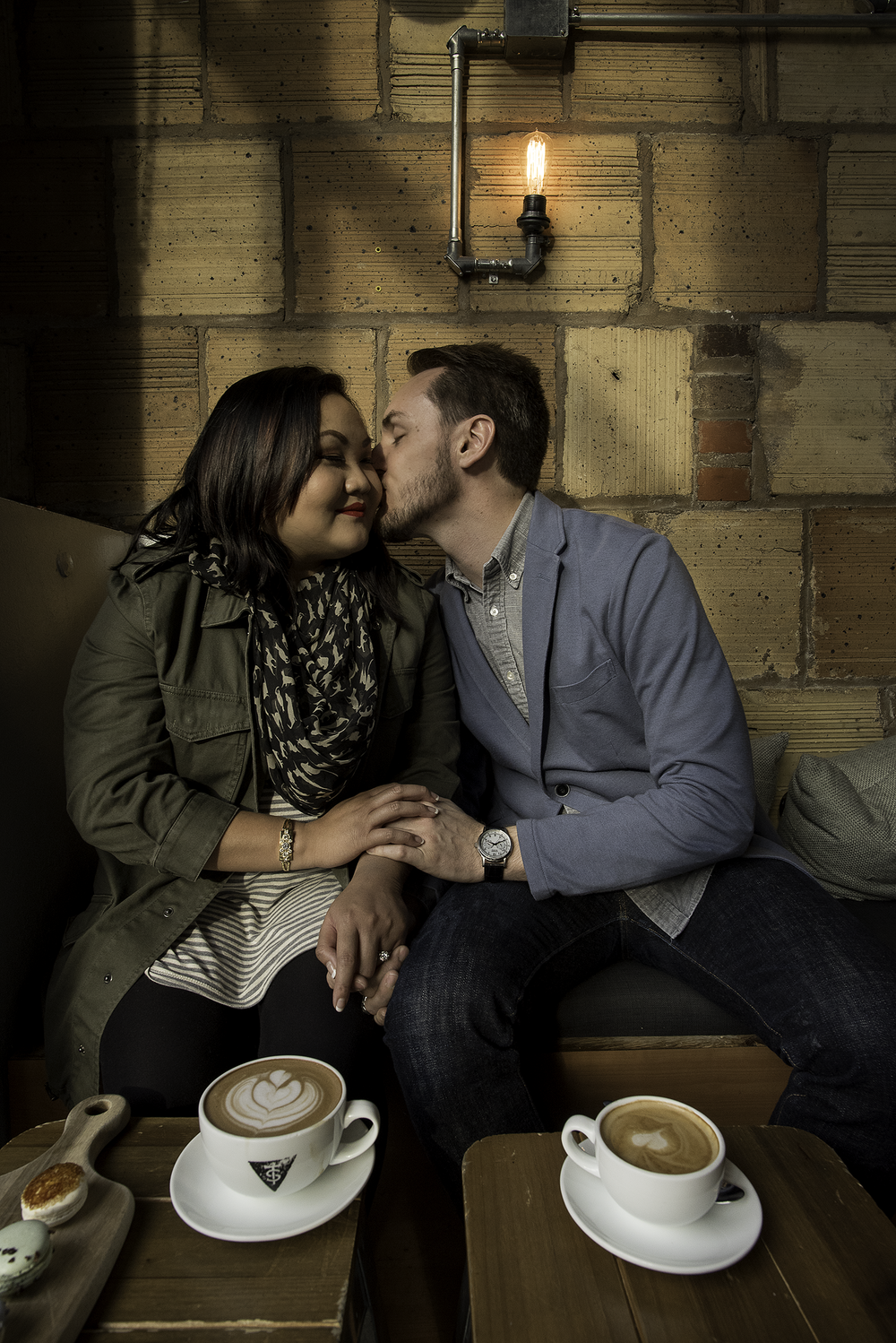 Houston-Tout-Suite-Cafe-Coffee-shop-engagement-photo