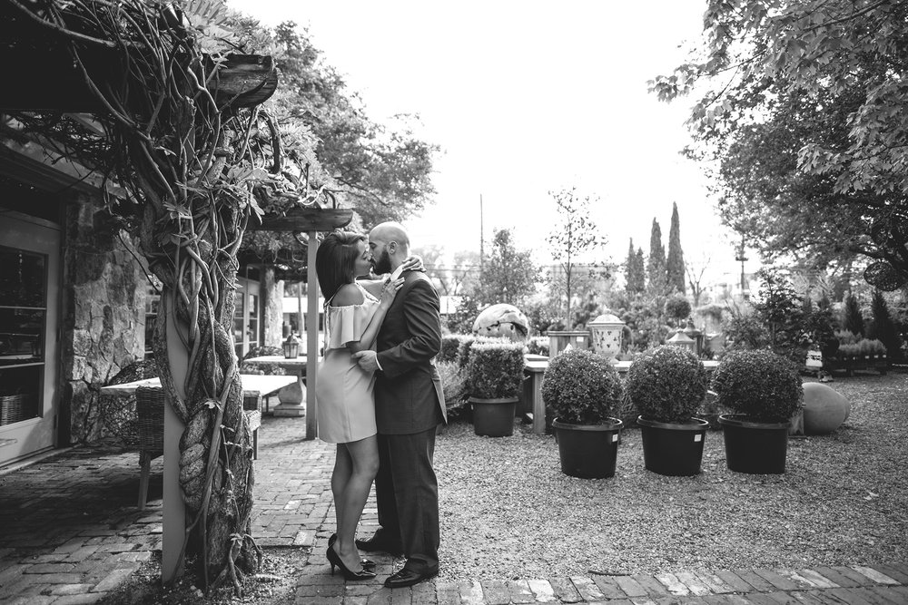Houston-restaurant-Tiny-Boxwoods-Intimate-cozy-Engagement-photography