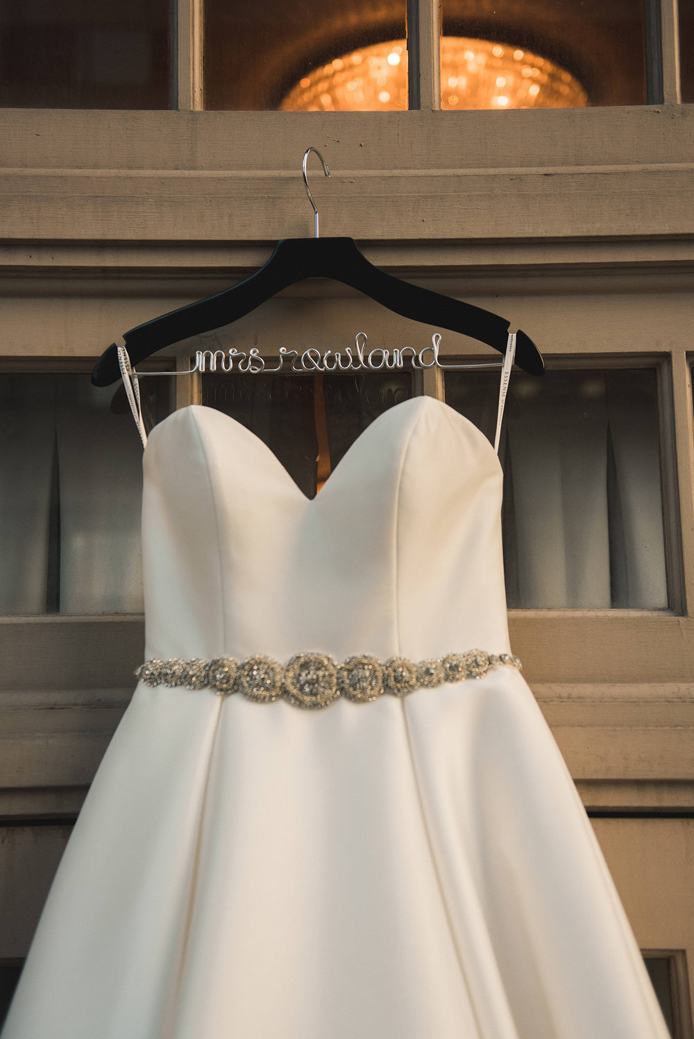 houston-bridal-dress-custom-hanger-photography