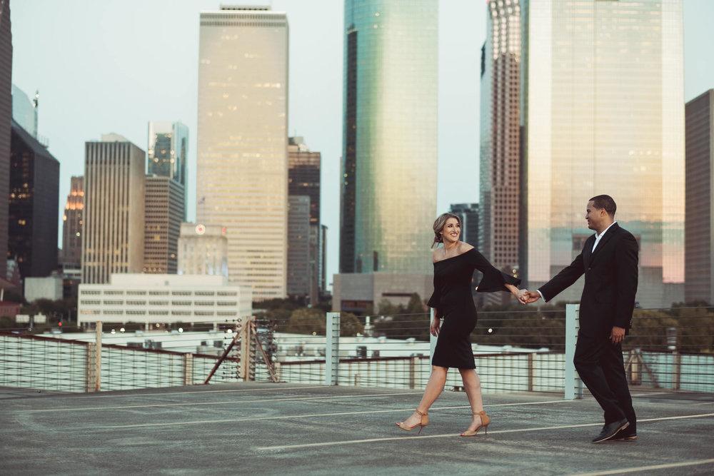 Sabine-street-houston-engagement-photographer-city-skyline-sunset-golden-hour