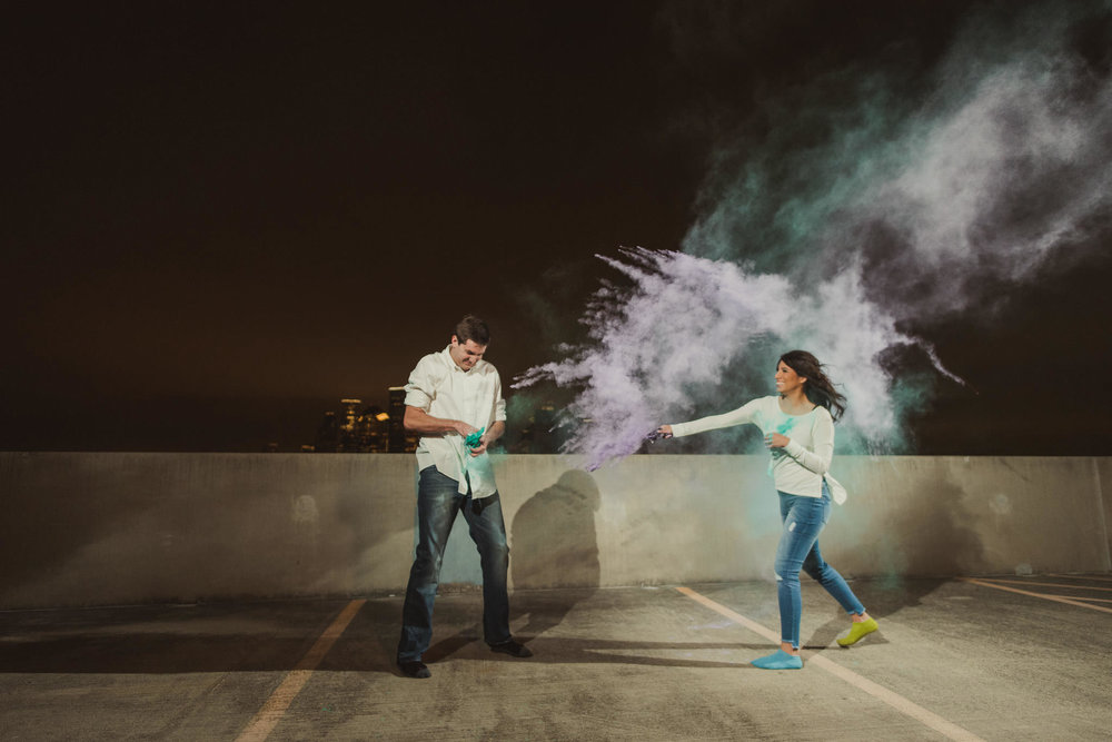 Houston-holi-powder-color-engagement-fun-fight-night