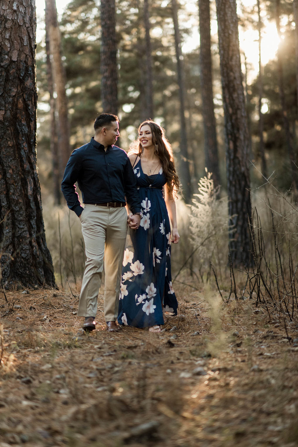 woodlands-houston-forest-enchanted-romantic-engagement-photographer