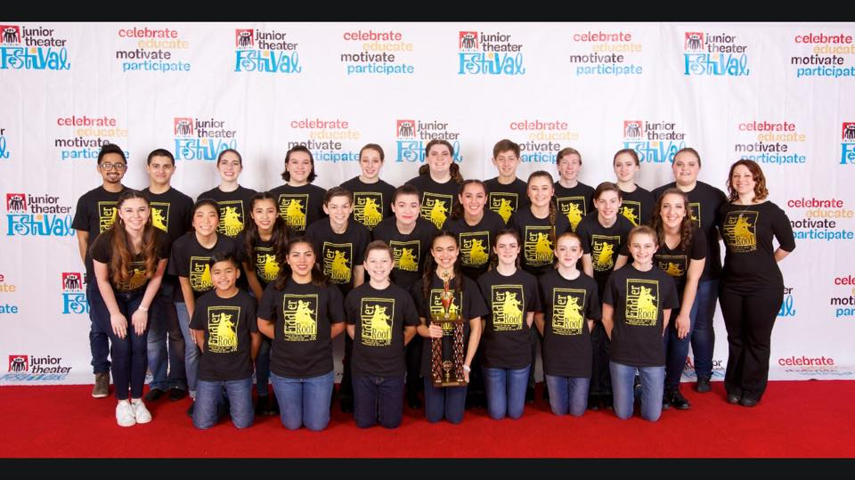 Apple Teens Fiddler on the Roof JR Awarded Outstanding Production at the Junior Theater Festival West 2017