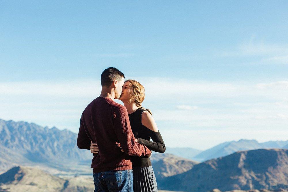 Kate Roberge Photography | Queenstown Engagement Elopements Couple Portrait Photographer