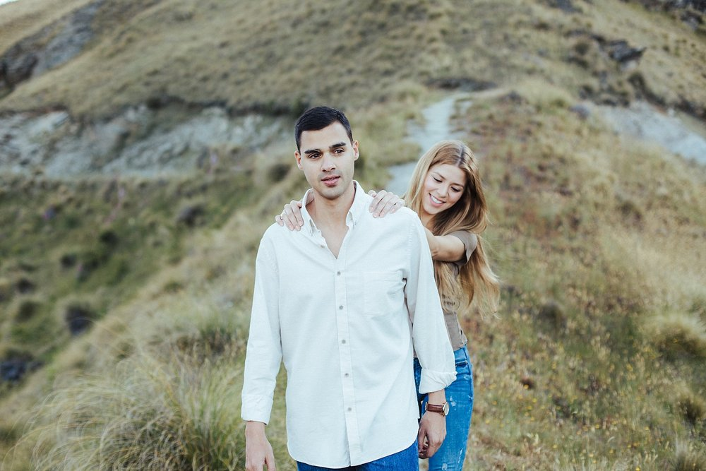 Kate Roberge Photography | Queenstown Engagement Elopements Couple Portrait Photographer