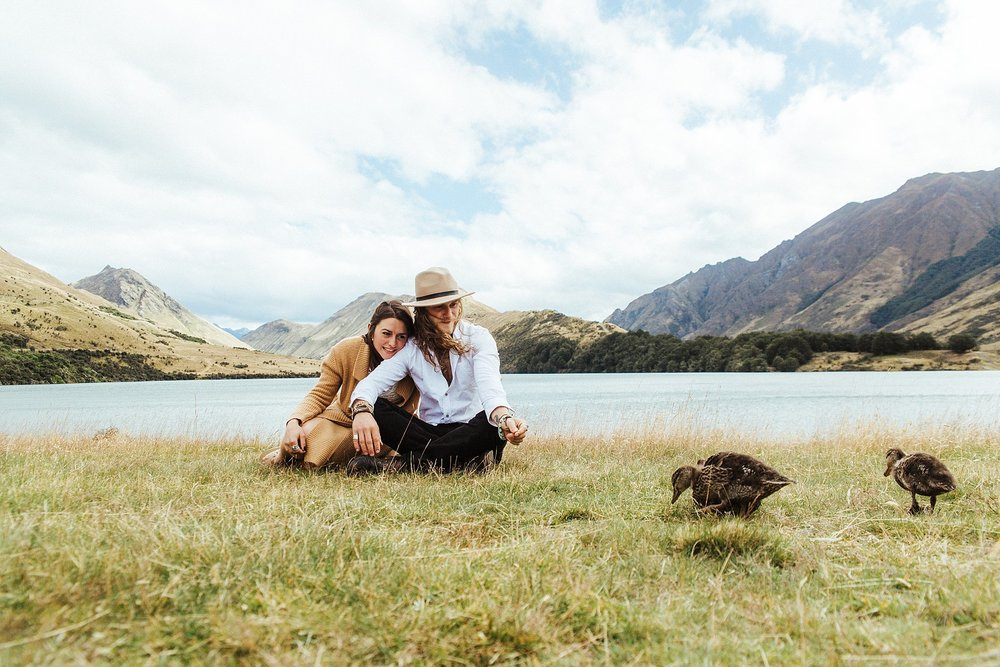 Kate roberge photography queenstown couple engagement elopement and family photographer