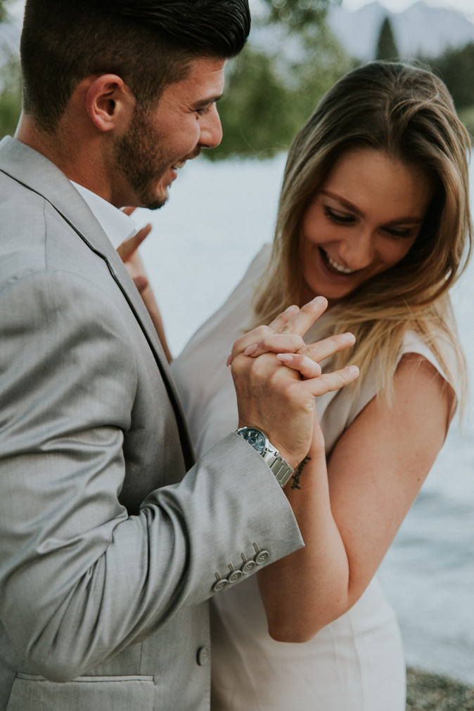 Kate roberge photography queenstown elopement couple engagement photographer