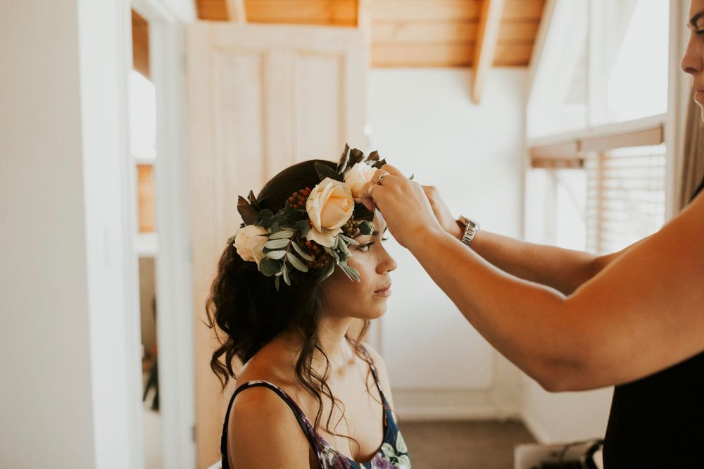 Queenstown wedding hair