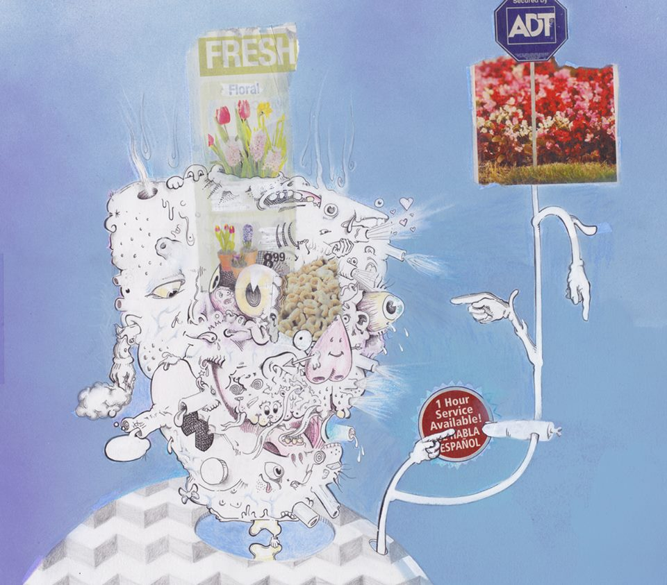 Nothin' But Blue Skies Do I See, Nothin' But Blue skies Protected By ADT