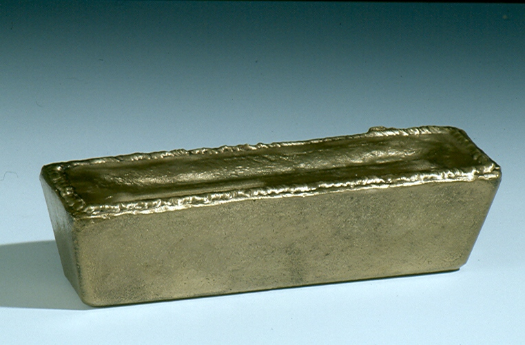 Lost Wax Casting of a Bronze Ingot