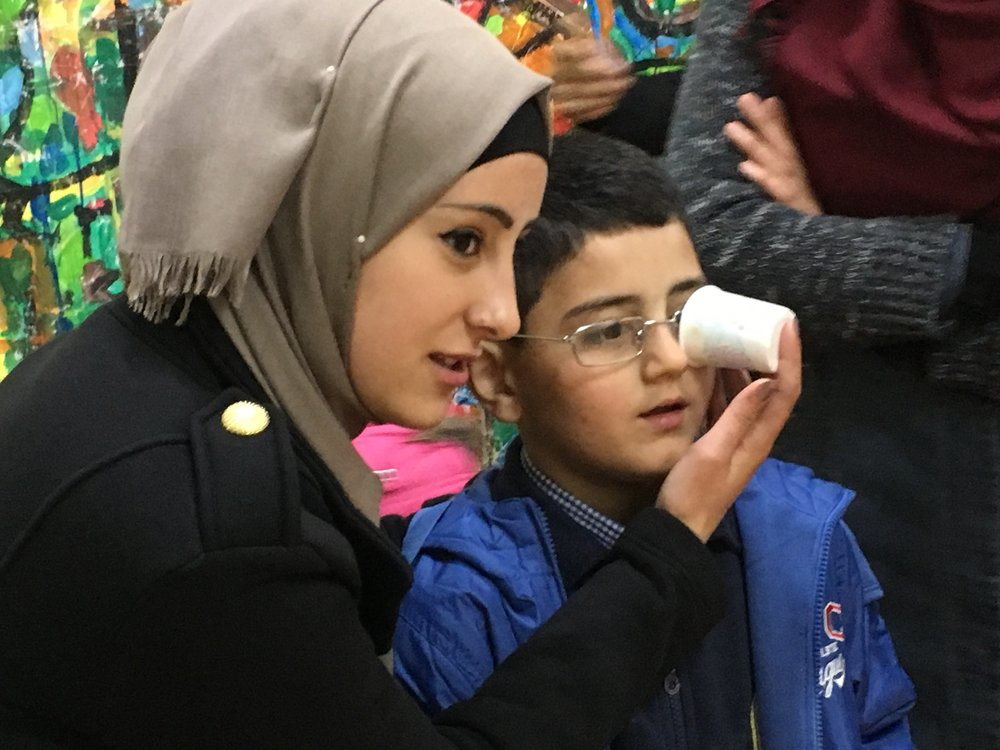 Children's Vision Screening in East Jerusalem, March 2016