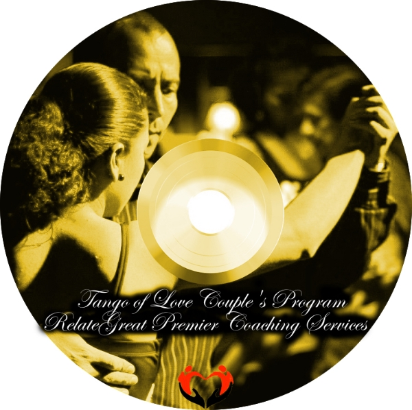 Tango of Love CD cover - GOLD