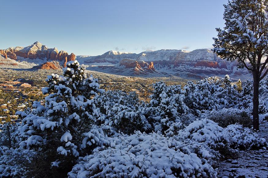 Sedona After Snow