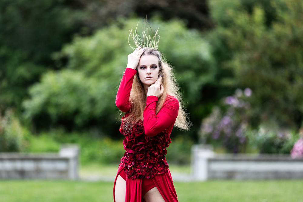Model:Marcee Mickelle,MUA:Talia Fladland,Hair:Anne Snider,Designer:Lexy Bach