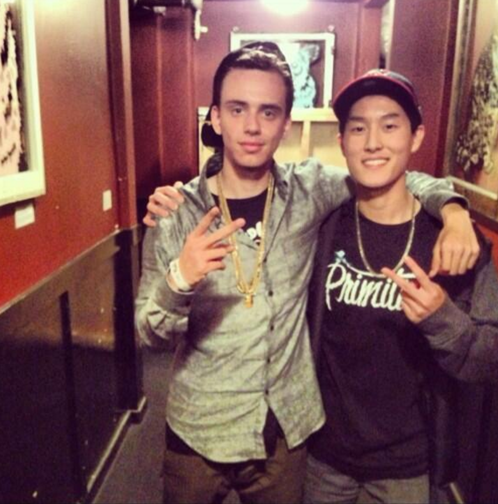 The first time meeting Logic in person at The Crocodile in Seattle, WA.