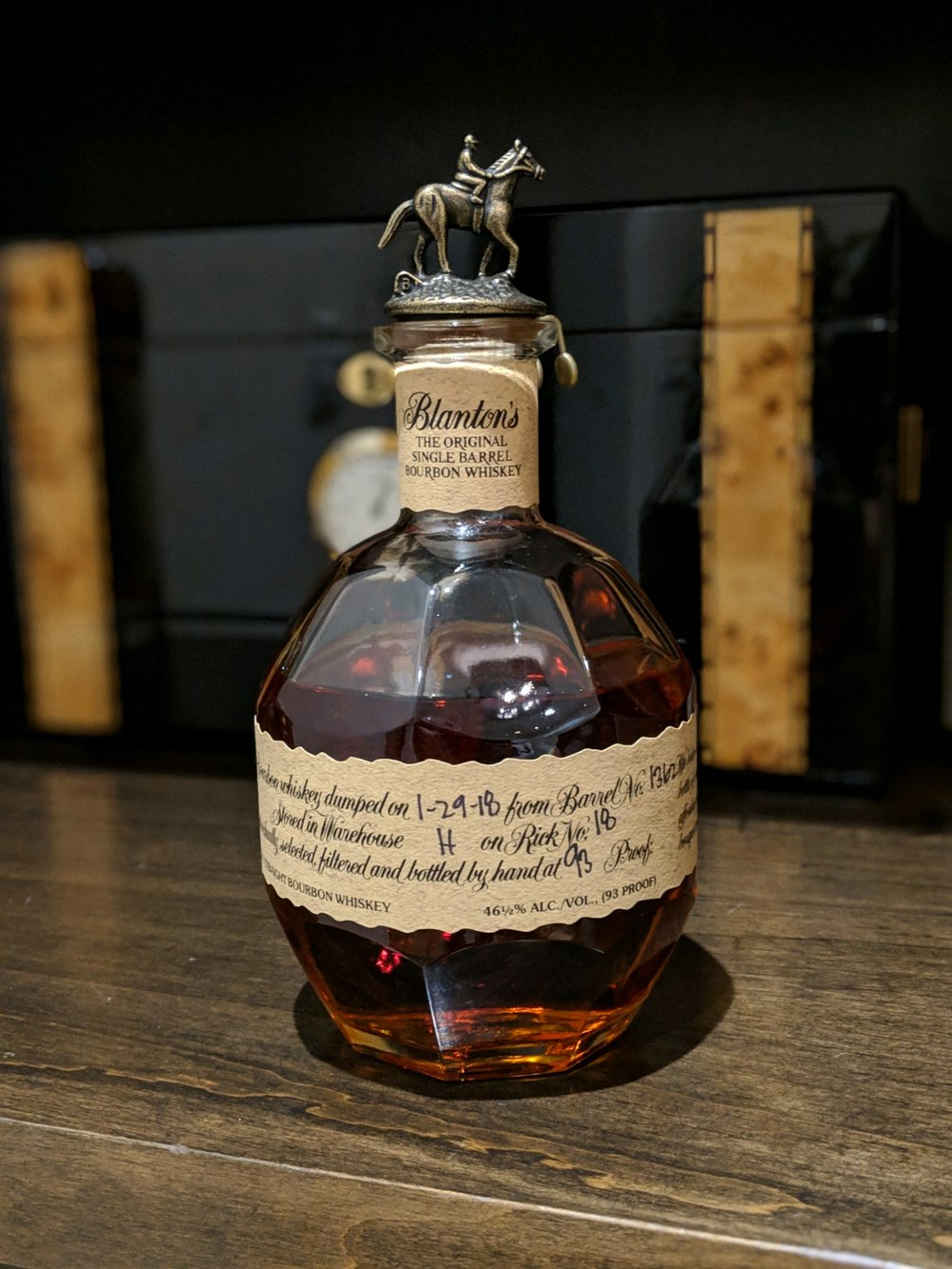 30e068b7c97fe Review - Blanton s Original Single Barrel Bourbon — Whiskey Sidekick