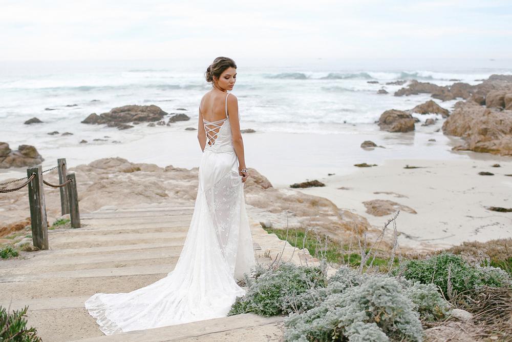 Superb Vintage Inspired Beach Wedding Dresses | San Jose San Francisco Bay Area |  Ju.Lee Design Ideas